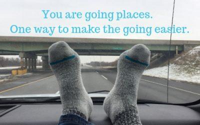 feet on dashboard