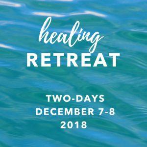 healing retreat 2018 december 2 days