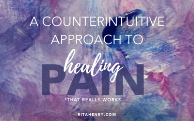 A Counterintuitive Approach to Healing Pain