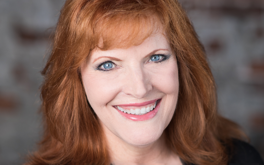 lady smiling with red hair