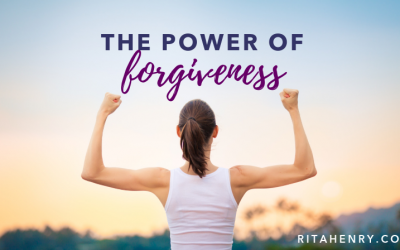 The Power of Forgiveness woman with muscles