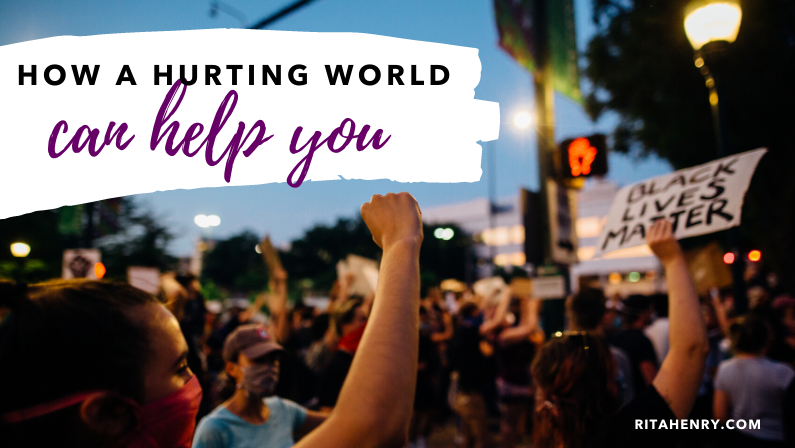 How a hurting world can help you now