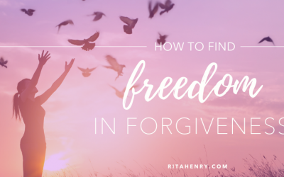 How to find freedom in forgiveness?