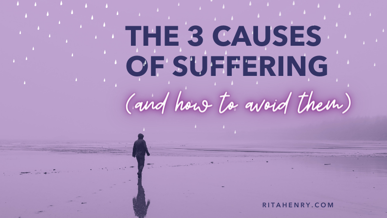 Could ending your suffering be this simple?
